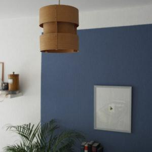 Holzlampe 70er 60er